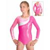 Gymnastický dres závodní D37d-18_2 růžová