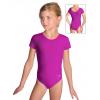 Gymnastický dres závodní D37kk tmavě růžová