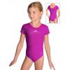 Gymnastický dres závodní D37kk_k56 tmavě růžová