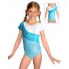 Gymnastický dres závodní D37kk-dv tyrkysová