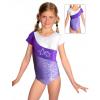 Gymnastický dres závodní D37kk-dv fialová
