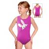 Gymnastický dres závodní D37r-t200 růžová