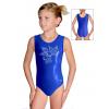 Gymnastický dres závodní D37rsl_f10 modrá