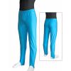 Gymnastické šponovky závodní D36g_2 tyrkysové lesklé