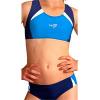 Dívčí sportovní plavky dvoudílné PD280x2