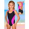 Dívčí sportovní plavky jednodílné PD513x3