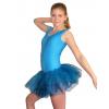 Baletní sukně tylová D801x tyrkysová