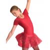 Baletní sukně tylová D800x červená