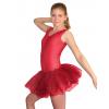 Baletní sukně tylová D801x červená