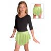 Taneční sukně kolová D807 světle zelená