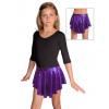 Taneční sukně kolová D807 fialová