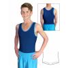 Gymnastický dres chlapecký D37chnl tmavě modrý lesklý