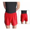 Gymnastické šortky závodní D36gs červené lesklé