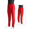 Gymnastické šponovky s puky závodní D36g červené lesklé