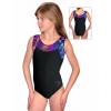 Gymnastický dres závodní D37r-s t202 s černou