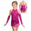 Dres na moderní gymnastiku - trikot M916 t502 růžová