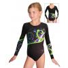 Gymnastický dres závodní D37d_t112zm černá