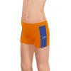 Sportovní legíny krátké B36k-dvx oranžová s modrou