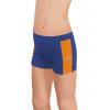 Sportovní legíny krátké B36k-dvx modrá s oranžovou