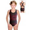 Dívčí sportovní plavky jednodílné PD623 v485