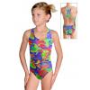 Dívčí sportovní plavky jednodílné PD622 v448