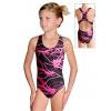 Dívčí sportovní plavky jednodílné PD622 v343