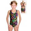 Dívčí sportovní plavky jednodílné PD623 v449