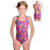 Dívčí sportovní plavky jednodílné PD623 v445
