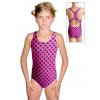 Dívčí sportovní plavky jednodílné PD623 v333