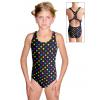 Dívčí sportovní plavky jednodílné PD623 v488