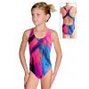 Dívčí sportovní plavky jednodílné PD622 v492