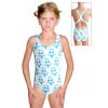 Dívčí sportovní plavky jednodílné PD623 v69