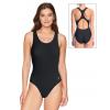 Dámské sportovní plavky jednodílné P623 černá