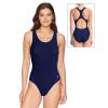 Dámské sportovní plavky jednodílné P622 tmavě modrá