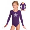 Gymnastický dres B37dg_n58 fialová