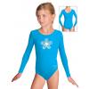 Gymnastický dres S37dg_n59  tyrkysová