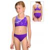 Dívčí sportovní plavky dvoudílné PD658 t101 fialová