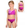 Dívčí sportovní plavky dvoudílné PD658 t101 růžová