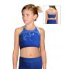 Sportovní podprsenka - top D346-4 502 modrá