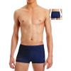 Pánské plavky s nohavičkou P101  t812 tmavě modrá