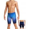 Pánské plavky s nohavičkou P102 t808 modrá