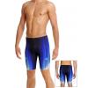 Pánské plavky s nohavičkou P102 t811 modrá