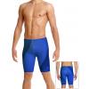 Pánské plavky s nohavičkou P102 t814 modrá