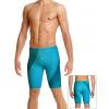 Pánské plavky s nohavičkou P102 t814 modrozelená