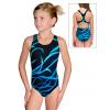 Dívčí sportovní plavky jednodílné PD623 v505