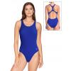 Dámské sportovní plavky jednodílné P622x modrá