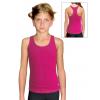 Sportovní tílko B345 růžová elastická bavlna