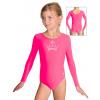 Gymnastický dres S37dg f44 reflexně růžový supplex