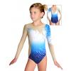 Gymnastický dres závodní D37d t119 s modrou
