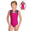 Gymnastický dres závodní D37r-6 t301x růžová